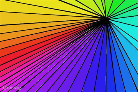 Rainbow Lines Top rainbow lines an abstract speedpaint drawing by cheer4ever082 queeky draw paint