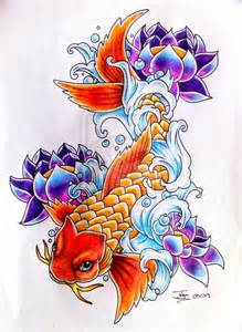 Koi Fish And Lotus Flower Meaning My Best Koi Carp By Tattoobassist On Deviantart P