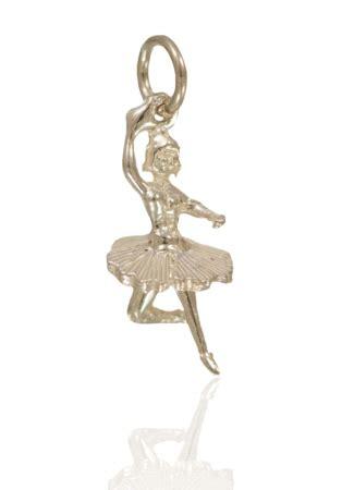 Tutu And Co Aslan Silver Bracelet sterling silver ballerina ballet dancer charm moving tutu