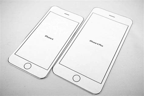 iphone cut out template iphone 6 printable templates to try sizes gt gt 18