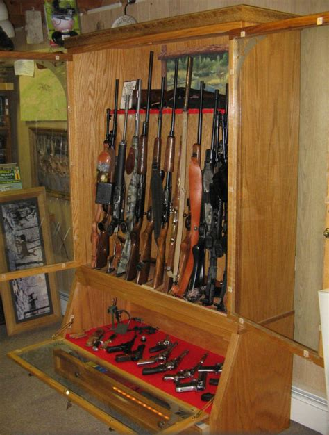 pdf diy wood gun cabinet plans great
