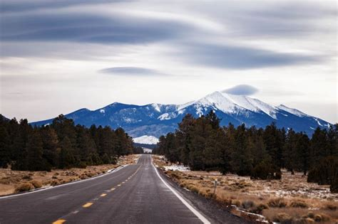 flagstaff snowfall these places get the most snow during national