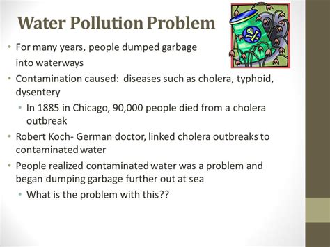 what is the problem water pollution ppt download