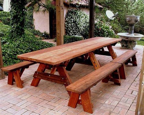 picnic bench design 25 best ideas about picnic table plans on pinterest diy