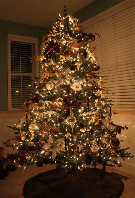 awesome ideas for rustic christmas tree decoration happy