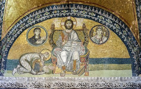 Mosaic L by File Hagia Imperial Gate Mosaic 2 Jpg Wikimedia