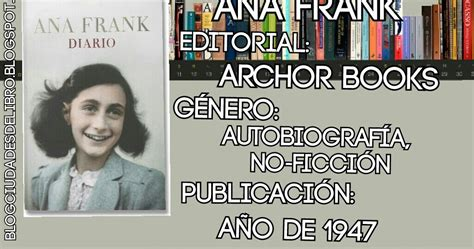 libro el sistema mi experiencia blog ciudades de libros rese 241 a mi experiencia leyendo el diario de anne frank