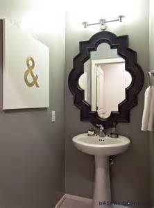 Mirrors For Powder Rooms 20 Practical Amp Pretty Powder Room Decorating Ideas