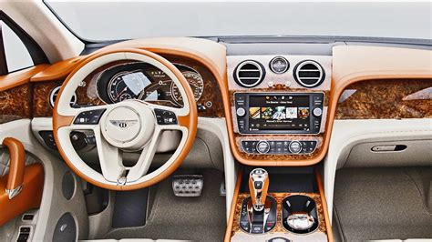 bentley bentayga interior clock 2016 bentley bentayga tailoring and personalisation