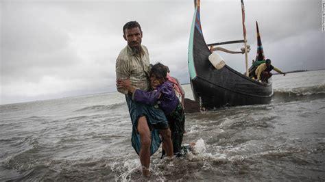 refugee boat crash photos rohingya refugees flee myanmar