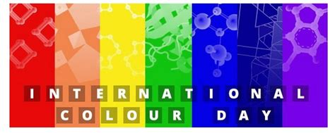 march color of international colour day crystallography maggie maggio