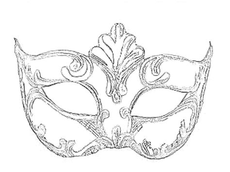 masquerade mask template for adults mask from venice coloring pages coloring books