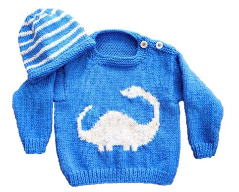 knitting pattern jumper with dinosaur the sweetest knitted baby clothes ever