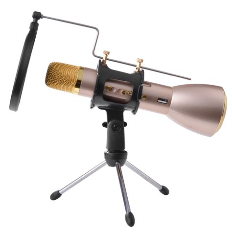 Microphone Bracket Stand Adjustable Holder Pop Filter 3 foldable desktop tabletop karaok microphone tripod stand