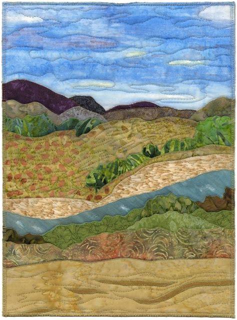 Landscape Quilt Images Landscape Quilts Images Needlework Landscapes