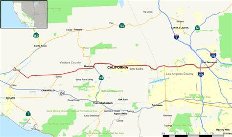 california state freeway map california state route 118 wikipedia