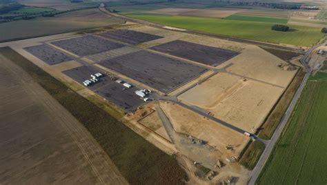 Przygotowania do wykonania fundamentów fabryki w Jaworze