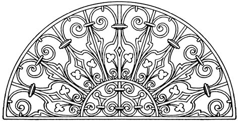 from pattern to nature in italian renaissance drawing italian renaissance lunette panel clipart etc