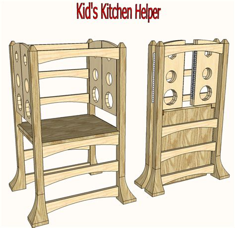 Helper Stool Plans by Kitchen Helper Platform Projects To Try