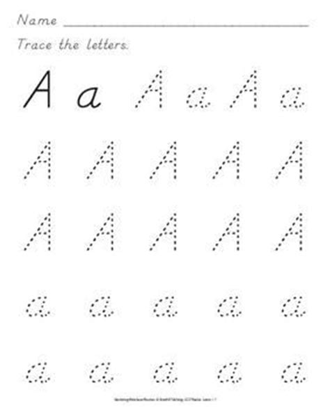 pattern formation worksheets nealian handwriting practice includes more 500 ready to