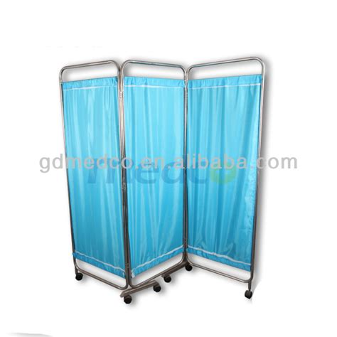 bed screen curtain lifetime service mobile bed screen 3 section foldable