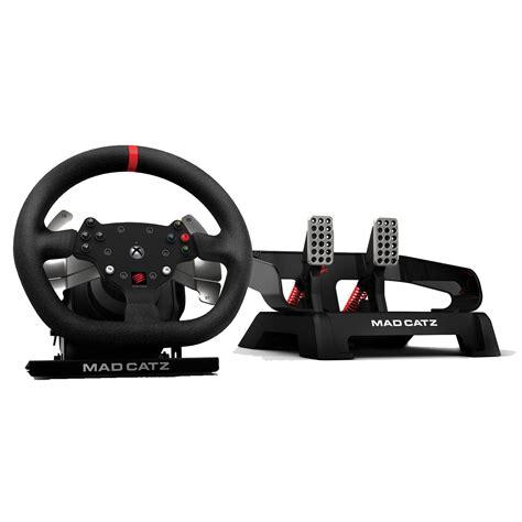 volante xbox one catz catz pro racing feedback accessoires xbox one