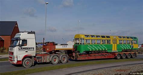 west coast motors blackpool blackpool tram cars 671 and 681 reunited