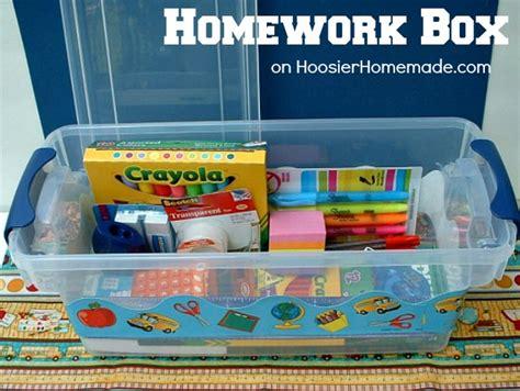 Back To School Desk Organization Hoosier Homemade Back To School Desk Organization