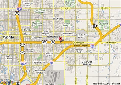 Comfort Inn Wichita Map Of La Quinta Inn Amp Suites Wichita East Wichita