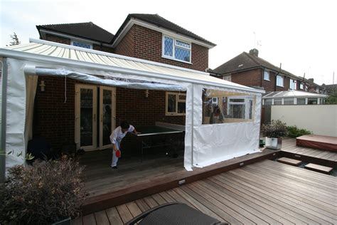 side awnings for patios awning curtains manufactured by kover it kover it blog