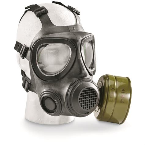gas mask swedish surplus forsheda a4 gas mask new