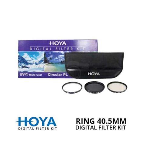 Hoya 40 5mm Cpl Filter hoya filter digital filter kit ii 40 5mm harga dan