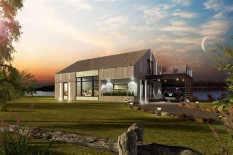 Simple House Plans With Loft maison neuve chalets mod 232 le eurosh 228 ck