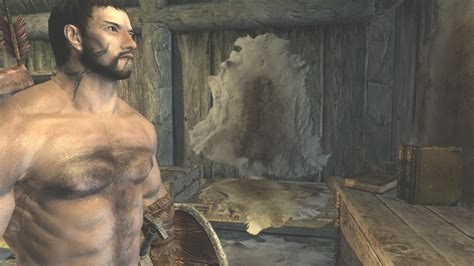 male body replacer mods skyrim hairier male texture at skyrim nexus mods and community
