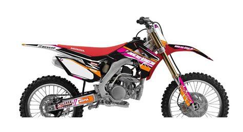 Honda Crf 250 R Aufkleber by Honda Dekore Mx Kingz Motocross Shop