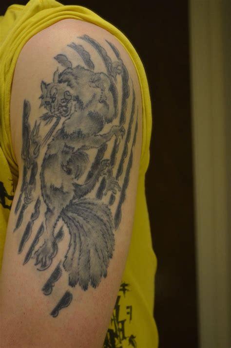 9 tailed fox tattoo nine tailed fox by tenkosama9 on deviantart