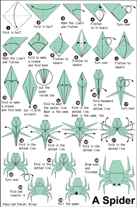 origami tarantula tutorial origami spider easy origami instructions for kids
