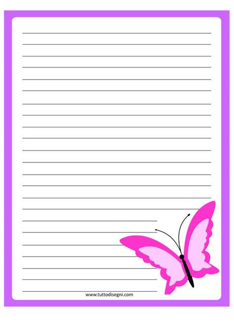 farfalle e lettere carta da lettere con farfalla tuttodisegni