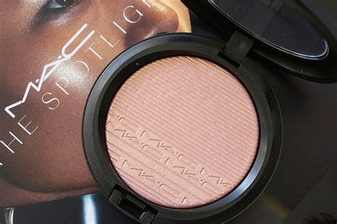 mac beaming blush extra dimension skinfinish review mac introduces new shades of mac strobe cream in the mac