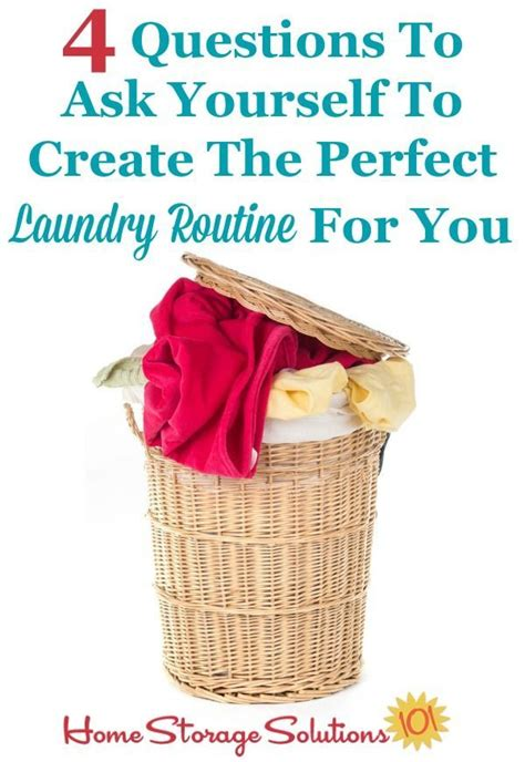 4 Questions To Make Your - 4 questions to ask yourself to create the laundry