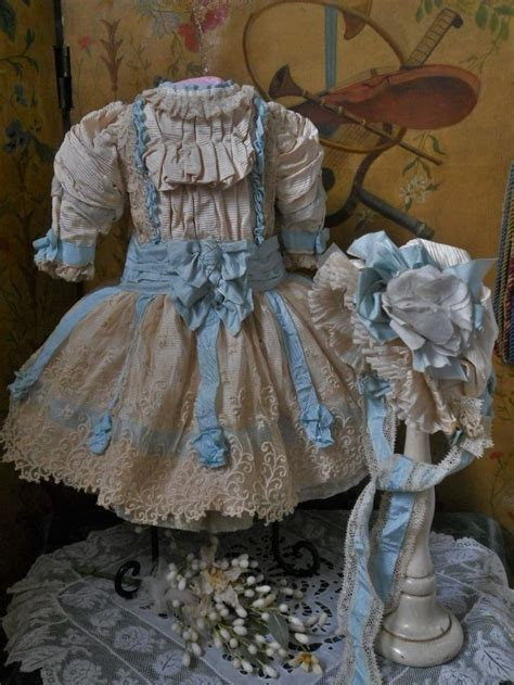 very beautiful in french very pretty french bebe costume with bonnet