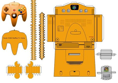 Nintendo Papercraft Templates - 17 best images about papercraft on papercraft
