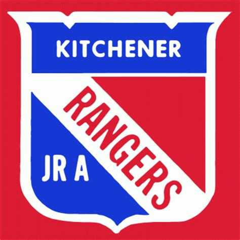 Kitchener Rangers by Kitchener Rangers Hockey Logo From 1964 65 At Hockeydb