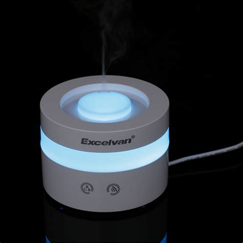 Essential Aroma Diffuser Humidifier 7 Led Color Nig Murah 7 color led essential ultrasonic aroma diffuser air
