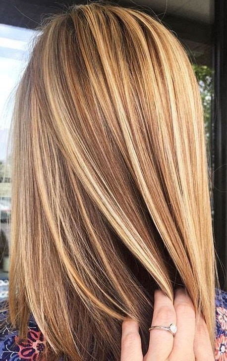 pictures of blonde hair color and brown lowlights 51 blonde and brown hair color ideas for summer 2018