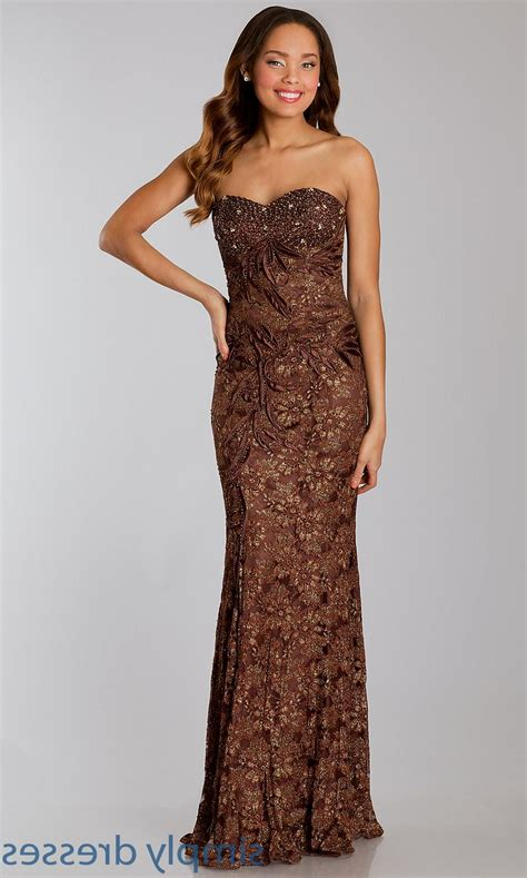 Brown Dress chocolate brown prom dresses naf dresses