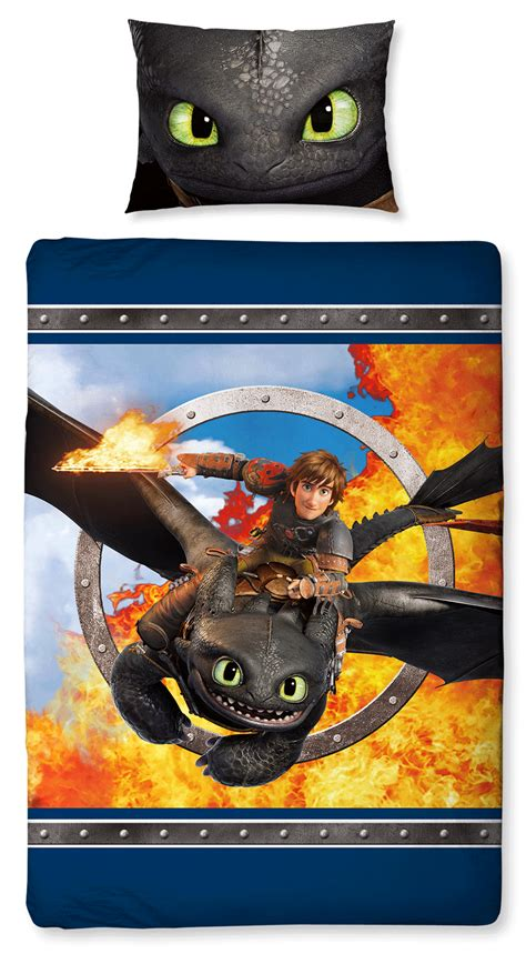 how to train your dragon bedding how to train your dragon toothless single panel bedding set characterlinens