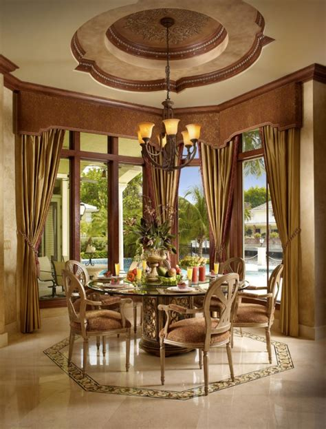 mediterranean dining room 15 magnificent mediterranean dining room designs made of