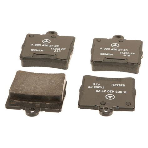 brake pads mercedes genuine 174 mercedes c class 2003 brake pads