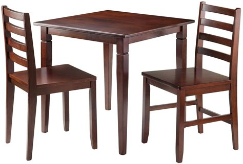 Walnut Dining Room Set Kingsgate Walnut Dining Room Set Win 94133 Winsome